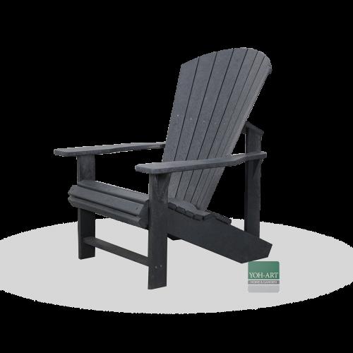 Adirondack Kanadischer Sessel Deckchair Slate Grey