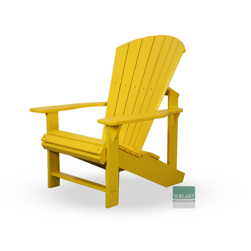 Adirondack Kanadischer Deckchair Yellow