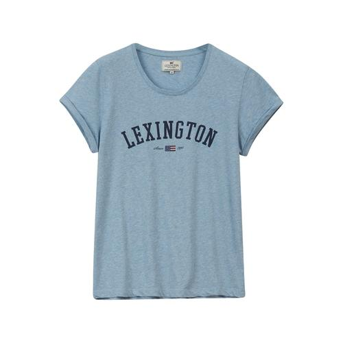 Lexington Vanessa Tee T-Shirt Light Blue Melange