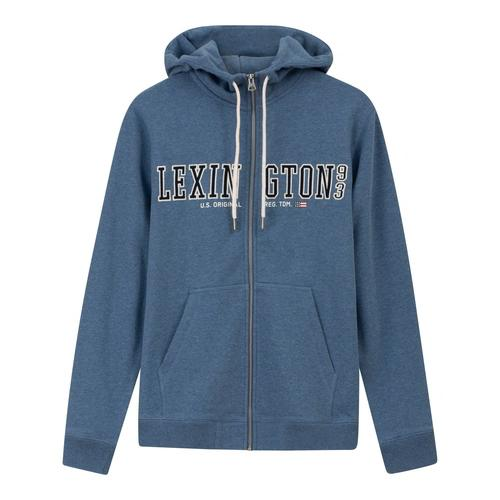 Lexington Michael Hoodie Blue Melange