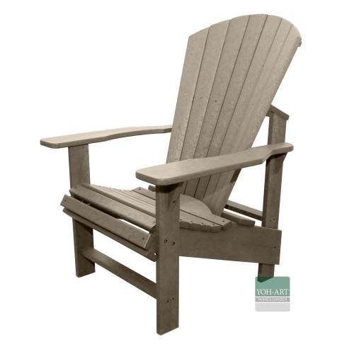 Adirondack Chair Comfort Kanadischer Deckchair Beige