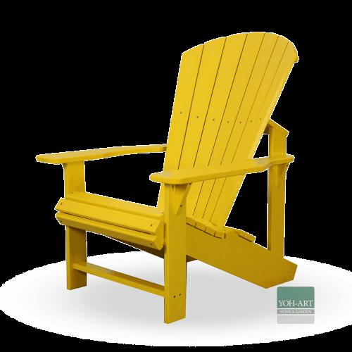 Adirondack Kanadischer Deckchair Yellow