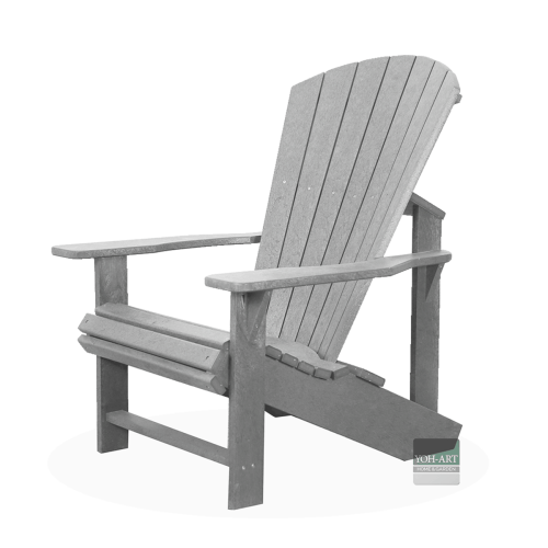 Adirondack Chair Kanadischer Sessel Deckchair Light Grey