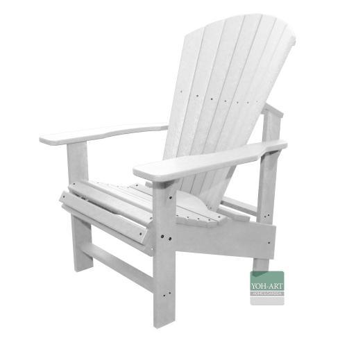 Adirondack Chair Comfort Kanadischer Deckchair White