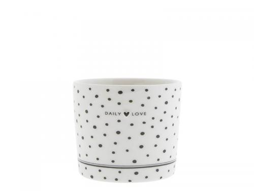 Bastion Collection Becher Daily Love in grey