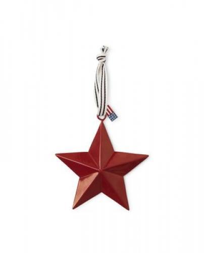 Lexington Red Metal Star 40 x 40 cm