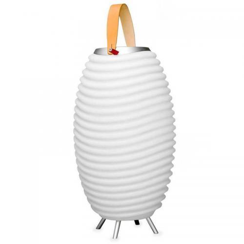 Kooduu S Bluetooth Musikbox Lampe Vase Sektkühler