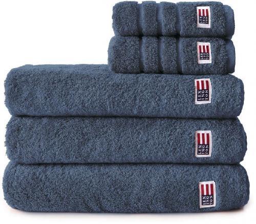 Lexington Handtuch Icons Original Towel Denim Blue