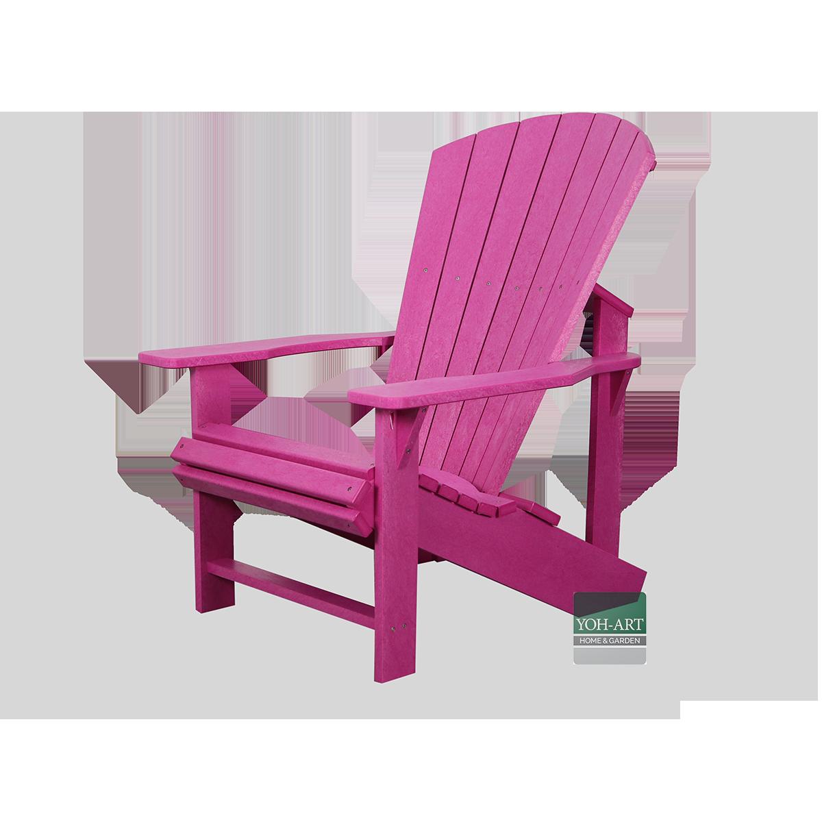 adirondack chair in vielen farben.
