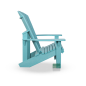 Mobile Preview: Adirondack Chair Aqua seitlich rechts