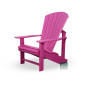 Mobile Preview: Adirondack Chair Stuhl Fuchsia Pink