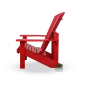 Mobile Preview: Adirondack Kanadischer Chair Red