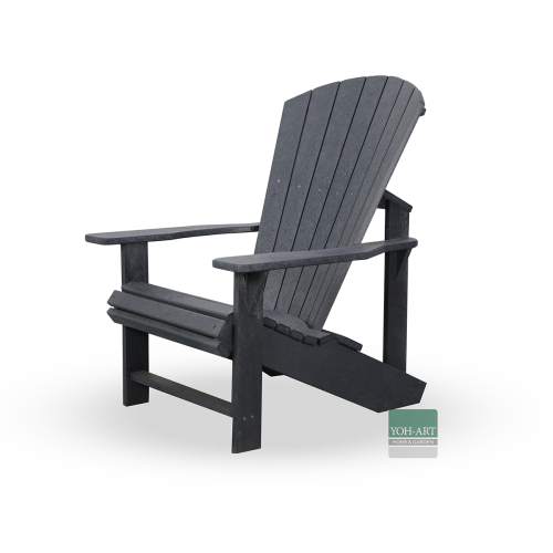 Adirondack Kanadischer Sessel Deckchair Grey