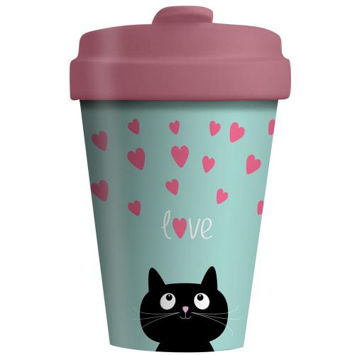 BambooCup Kitty Love