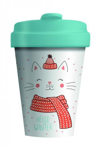 Bambusbecher Winter Kitty Limited Edition