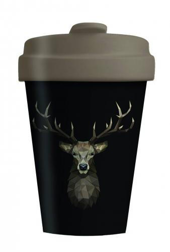 Bambusbecher Deer on Dark Limited Edition