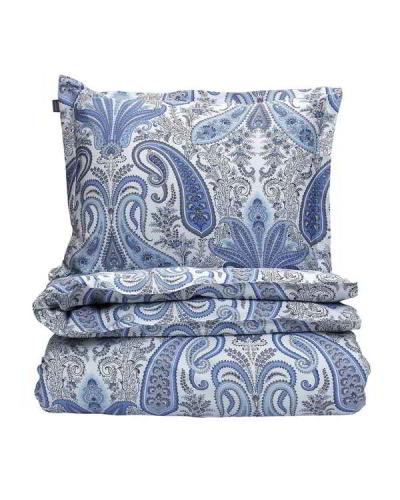 GANT Bettbezug Key West Paisley Single Duvet Crystal Blue