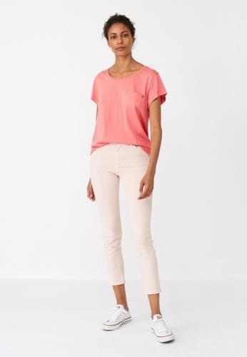 Lexington Ashley Jersey Tee Shirt Pink Model Groß