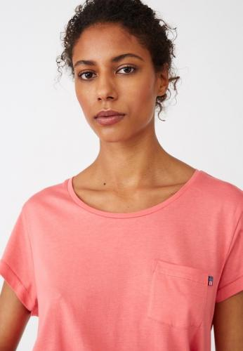 Lexington Ashley Jersey Tee Shirt Pink Model