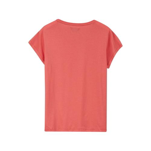 Lexington Ashley Jersey Tee Shirt Pink Hinten