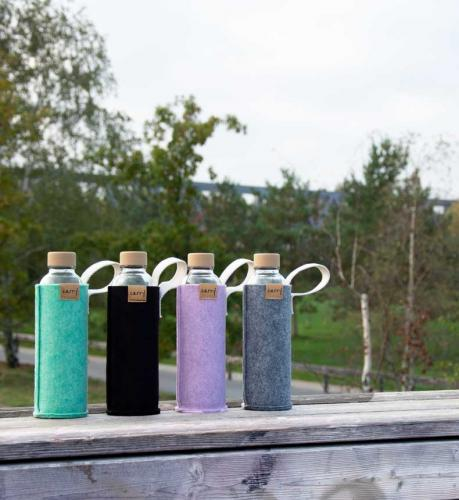 Carry Bottle Trinkflasche Namasté  bunt schoen schick stylisches