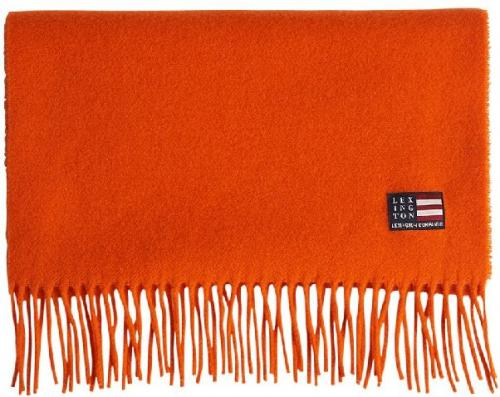 Lexington Massachussets Recycled Wool Blend Schal Orange Hell Freundlich Gemuetlich