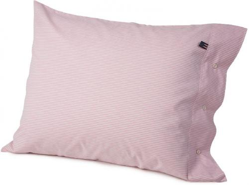 Lexington Kopfkissenbezug Pin Point Pink White Pillowcase Schoen Kuschelig Weich