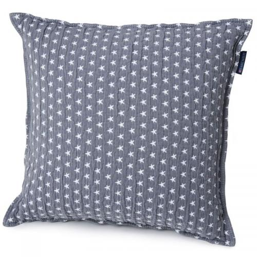Lexington Zierkissen Icons Star Sham Medium Gray