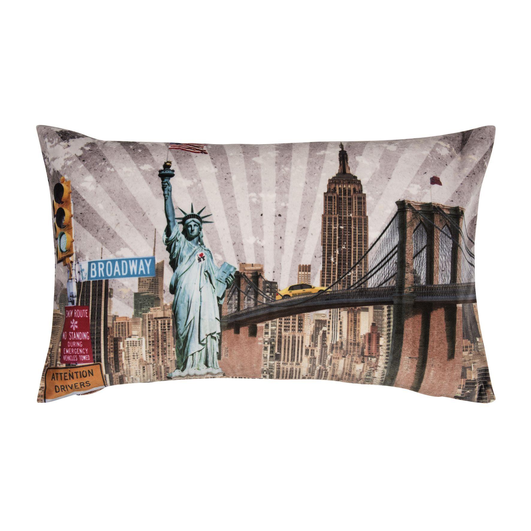 pad home design Hotspot Kissen New York   Lieblingskissen
