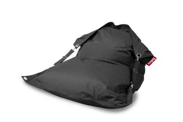 Fatboy Buggle Up Outdoor Sitzsack Charcoal