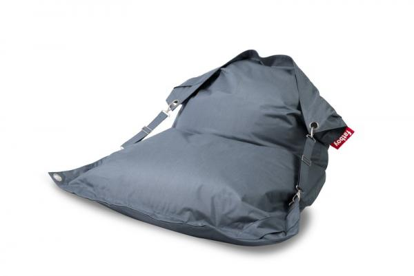 Fatboy Buggle Up Outdoor Sitzsack Steel Blue