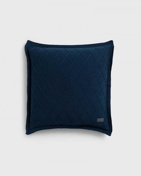 Gant Home Strick Kissen Trell Insignia Blue 853050201-113