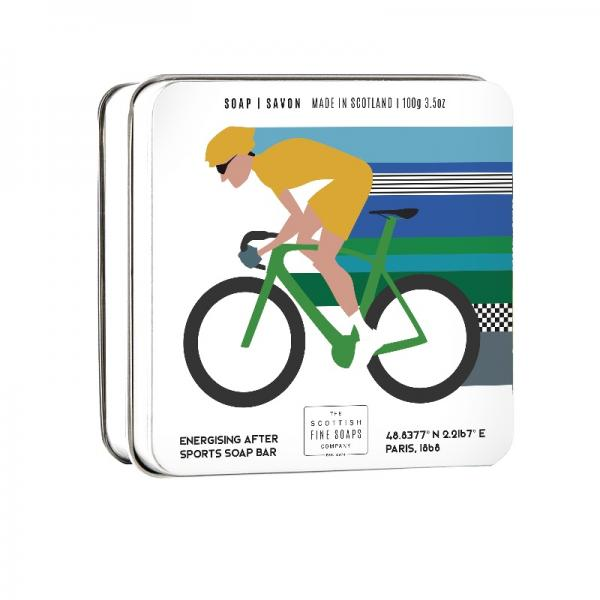 The Scottish Fine Soap Seife – Cycling Soap in a Tin