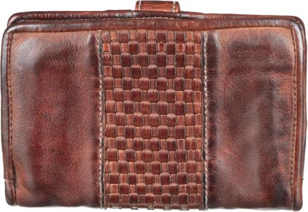 Bull & Hunt Urban Wallet Cognac Back Trendig