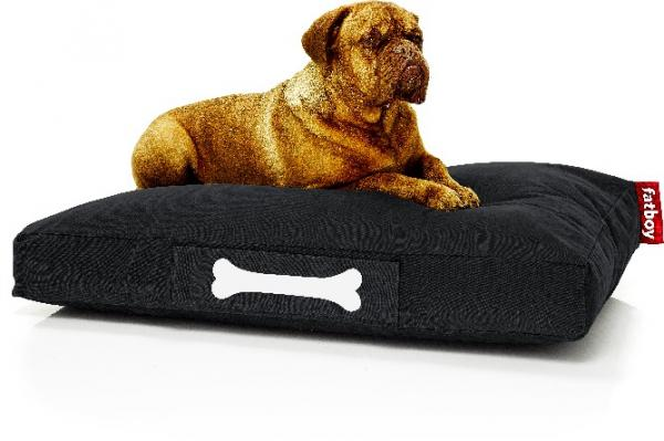 Fatboy Doggielounge Hundekissen Large Stonewashed Black Mood Model Hund