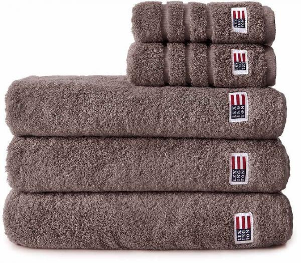Lexington Handtuch Original Towel Chocolate Handtuch Schick Schoen Modern