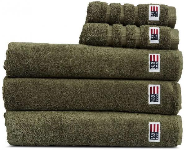 Lexington Handtuch Original Towel Dusty Olive Toll Wunderschoen Kuschelig