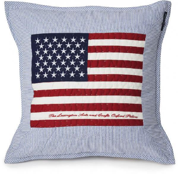 Lexington Zierkissen Flag Arts Crafts Sham Blau Weiss Trend Neu Modern