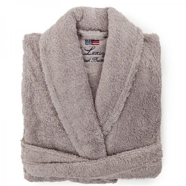 Lexington Bademantel Original Bathrobe Grey