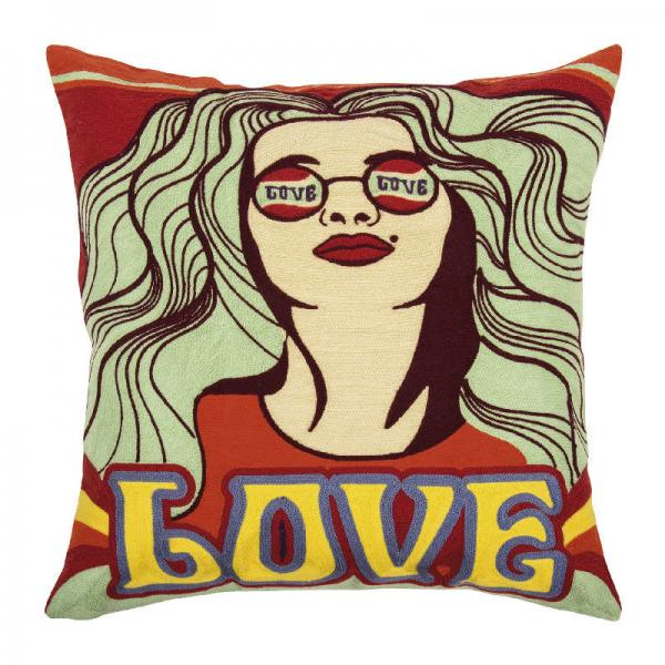 pad home Design Kissenhülle Gipsy Red Modern Love Kuschelig